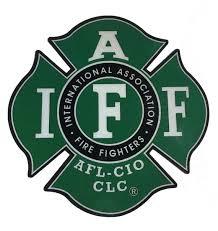 The Iaff Green Union 3m True 3m Reflective Vinyl Firefighter Etsy