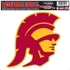 Stockdale Technologies Usc Trojans 12 Logo Decal Flat Vinyl Reusable Repositionable Auto Home University Of Southern California Sports Outdoors Cjp Org In