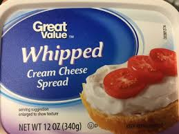 whipped cream cheese spread nutrition