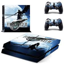 Final Fantasy 7 Remake Full Cover Faceplates Ps4 Skin Sticker Decal For Playstation 4 Console Controllers Ps4 Skin Sticker Stickers Aliexpress