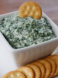 creamy parmesan spinach dip skinnytaste