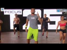 focus t25 workout you
