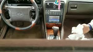 lexus ls400 v8 interior detail intro