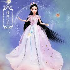 Bộ 12 món đồ chơi búp bê công chúa dễ thương xinh xắn