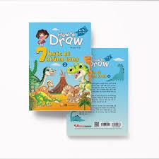 Sách How To Draw - 7 Bước Vẽ Khủng Long - Tập 2