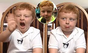 Noah Ritter, 5, from hilarious country fair interview appears on GMA    Daily Mail Online