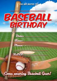 Baseball Birthday Invitation Invitaciones De Beisbol Plantilla
