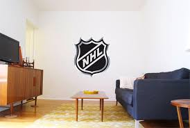 Nhl Hockey Logo Wall Decal Majestic Wall Art