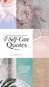 7 phone wallpapers self care es