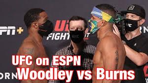 ufc on espn 9 woodley vs burns face