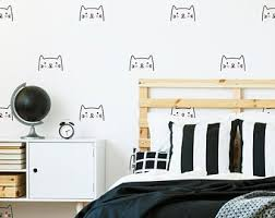 Cat Wall Decal Etsy