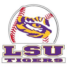Lsu Decal Tigers Baseball 4
