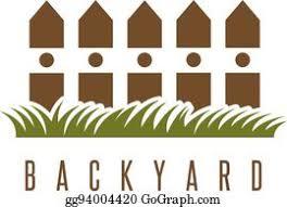 Garden Fence Cartoon Royalty Free Gograph