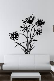Wall Decals Ink And Flowers Walltat Com Art Without Boundaries
