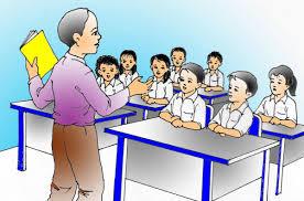 Image result for foto kartun guru sedang mengajar