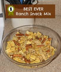 best ever ranch snack mix sometimes