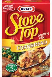 kraft stove top corn bread stuffing mix