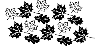 Leaves Fall Autumn Decor Vinyl Decal Wall Stickers Home Decor
