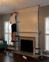 moulding to extend your fireplace