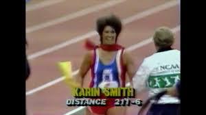 Karin Smith - Javelin Throw - 1990 Prefontaine Classic - YouTube