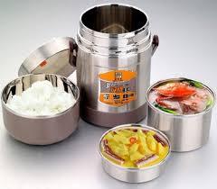 ailijin vacuum keep warm lunch box food