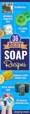 36 diy soap recipes