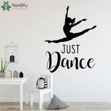 Yoyoyu Wall Decal Just Dance Vinyl Wall Stickers Wall Mural For Girls Room Dance Room Fashion Poster Art Mural Wall Decals Qq23 Wall Stickers Aliexpress