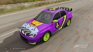 A Unit 01 Themed Paint And Decal Job I Ve Been Working On In Horizon 4 I Ll Be Sure To Share It Soon Evangelion