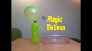 balloon magic physics experiment