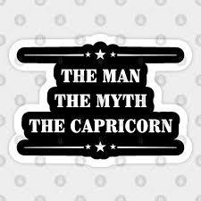 the man the myth the capricorn