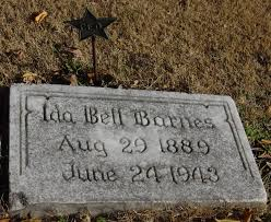 Ida Bell Barnes (1889-1943) - Find A Grave Memorial