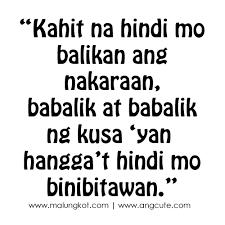 tagalog sad love quotes and sayings