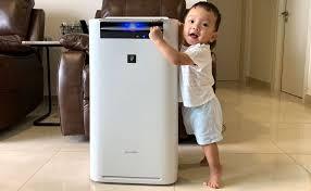 Trên tay Sharp KI-GS70-W: máy lọc không khí và bù ẩm hàng nội địa ...