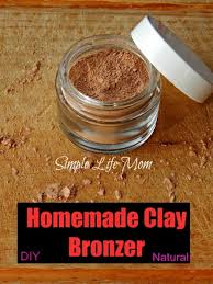 natural clay bronzer simple life mom