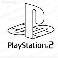 Playstation 2 Logo Decal Vinyl Decal Sticker Wall Decal Decals Ground