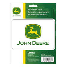 Logo Decal Set Auto Outdoor For The Home John Deere Products Johndeerestore