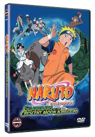 Amazon.com: Naruto The Movie - 3 - Guardians Of The Crescent Moon Kingdom  [DVD] (12): Movies & TV