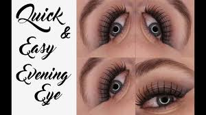 how to do eye makeup for evening party