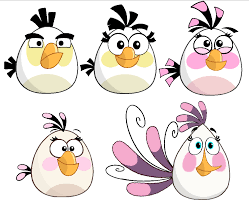 Angry Birds Forces - Evolution of Matilda by jared33 on DeviantArt
