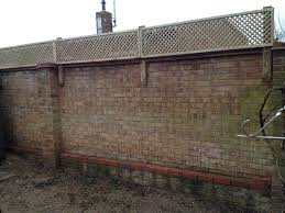 Pin By Dan Green On Garden Ideas Trellis Backyard Spaces Brick Wall