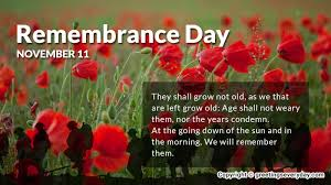 remembrance day whatsapp fb status message sms quote slogans