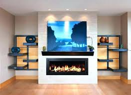 gas fireplaces with tv above dirplatz