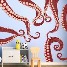 Harriet Bee Jackman Vinyl Octopus Tentacles Wall Sticker Reviews Wayfair
