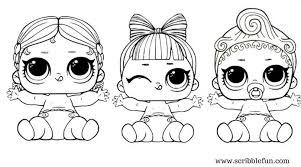 40 Free Printable Lol Surprise Dolls Coloring Pages Kleurplaten