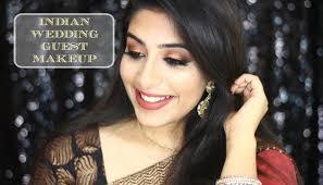indian wedding guest makeup grwm
