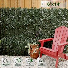 Buy Patio Paradise 4 X 14 Faux Ivy Privacy Fence Screen With Mesh Back Artificial Leaf Vine Hedge Outdoor Decor Garden Backyard Decoration Panels Fence Cover In Cheap Price On Alibaba Com