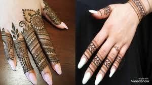 mehndi design photos finger