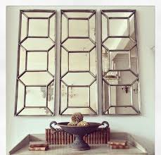 attractive wall mirror panels trend