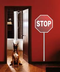 Ced212 Full Color Wall Decal Sticker Stop Sign Living Room Bedroom Entrance Ebay