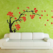 Modern Vinyl Wall Art Decals Wall Stickers Wall Quotes Beautify Your Room With Tree And Flower Wall Decals